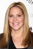 Mary McCormack komt bij de viering van het definitieve seizoen van het Netwerk van de V.S. ?in Duidelijk Gezicht aan? Stock Fotografie