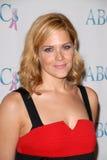 Mary McCormack nos associados para gala do aniversário do cancro do peito e da próstata a 20a, Beverly Hilton Hotel, Beverly Hills fotografia de stock royalty free