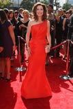 Mary McDonnell på de 2011 Primetime idérika konsterna Emmy Awards, Nokia teater L.A. Live, Los Angeles, CA. 09-10-11 Fotografering för Bildbyråer