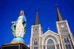Mary moder av guden, välsignade jungfruliga Mary Royaltyfri Bild