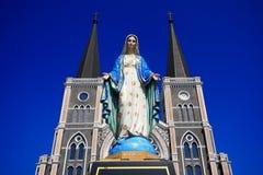 Mary moder av guden, välsignade jungfruliga Mary Fotografering för Bildbyråer