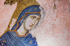 Mary Mosaic Royalty Free Stock Photography