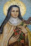 Mary Mosaic, Veneza Imagens de Stock Royalty Free