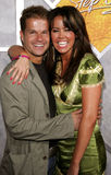 Mary Murphy and Louis van Amstel Stock Photography
