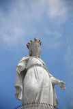 Mary open arms. Statue of Mary at Harissa church , jouineh , lebanon Stock Images