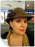 Mary Poppins. Mannheim, Germany. Hallowen night royalty free stock image