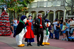 Mary Poppins on Parade at Disney World Stock Photography