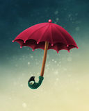 Mary Poppins umbrella Stock Images