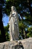 mary posągów dziewicy Obraz Royalty Free