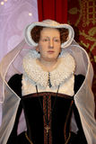 Mary Queen of Scots,. London, - United Kingdom, 08, July 2014. Madame Tussauds in London.  Waxwork statue of Mary Queen of Scots, Created by Madam Tussauds in Royalty Free Stock Photography