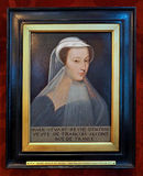Mary Queen of Scots. Portrait of Mary Queen of Scots Royalty Free Stock Photography
