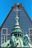 Mary queen of the world Basilica Stock Photos