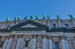 Mary, Queen of the World Cathedral, Montreal, Canada Royalty Free Stock Photo