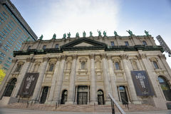Mary Queen of the World Cathedral in Montreal Canada Stock Images