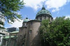 Mary, rainha da catedral do mundo, Canadá imagem de stock
