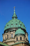 Mary, rainha da catedral do mundo em Montreal Foto de Stock