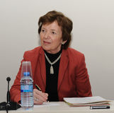 Mary Robinson at Global Justice for a New Decade Stock Photography