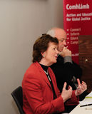 Mary Robinson and Niall Crowley Stock Photography
