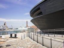 Mary Rose Museum en Portsmouth Inglaterra Fotos de archivo