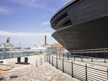Mary Rose Museum in Portsmouth England Stockfotos