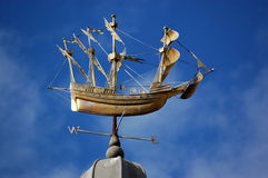 Mary Rose weathervane, Farnham Royalty Free Stock Photo