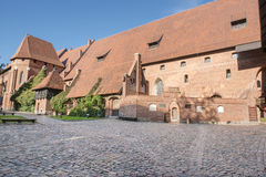 Malbork Castle, Poland Stock Photo