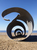 Mary's shell, Cleveleys Beach Stock Photography