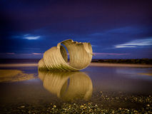 Mary's Shell at night stock images