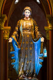 Mary sculpture Royalty Free Stock Images