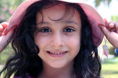 Mary smiling. Happy girl Royalty Free Stock Images