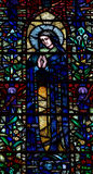 Mary (stained glass) Royalty Free Stock Image