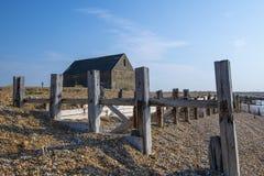 Mary Stanford Lifeboat House, puerto de Rye, Sussex del este, Inglaterra imágenes de archivo libres de regalías