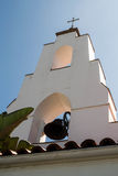 Mary, Star of the Sea Catholic Church bell tower, La Jolla, California Royalty Free Stock Photos