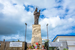 Mary star of the sea statue in Trapani, Italy Royalty Free Stock Photos