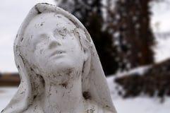 Mary Statue Royaltyfria Foton