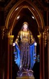 Mary Statue Fotografie Stock Libere da Diritti