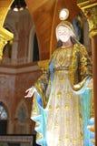 Mary-Statue in der christlichen Kirche von Thailand Stockfotografie