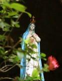 Mary Statue santa, noviembre de 2014 Imagenes de archivo