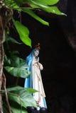 Mary Statue santa, noviembre de 2014 Imagen de archivo