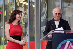 Mary Steenburgen,Larry David Royalty Free Stock Photo