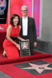 Mary Steenburgen,Ted Danson Stock Images