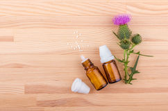 Homeopathic medicine Stock Photography