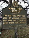 Mary Todd Lincoln House in Lexington, Kentucky - KENTUCKY - GESCHICHTE stockfotos