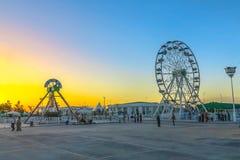 Mary Turkmenistan Amusement Park 01 stock photo