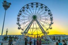 Mary Turkmenistan Amusement Park 02 stock photography