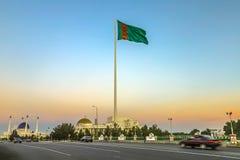 Mary Turkmenistan flaga 02 obrazy royalty free