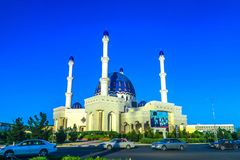Mary Turkmenistan Mosque 02 royalty free stock photo