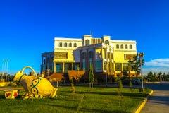 Mary Turkmenistan muzeum zdjęcia stock