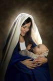 Mary u. Jesus Lizenzfreie Stockfotografie