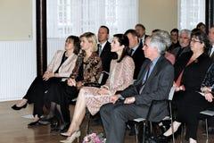 MARY,ULLA TOERNAES AND MATTHEW PEEK Royalty Free Stock Photos